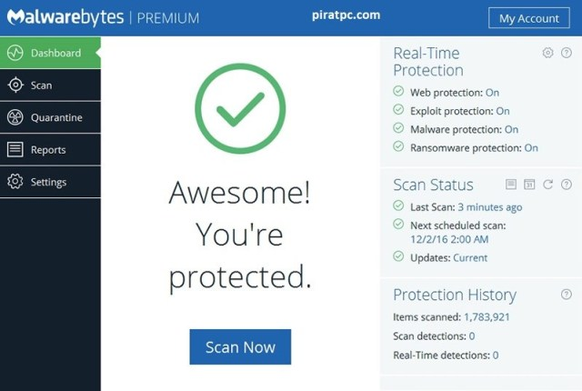 Malwarebytes 4.1.2.73 Crack + Key Full Download [Lifetime]