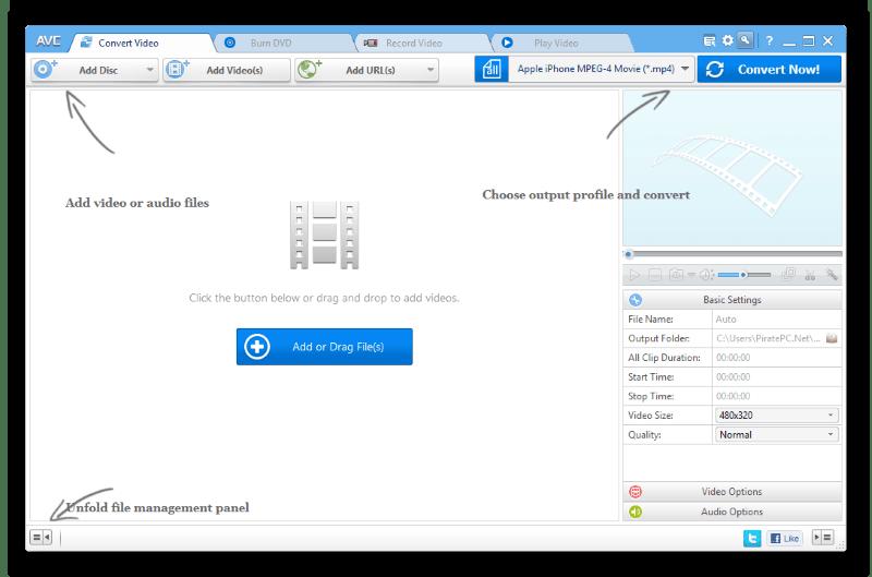 Any Video Converter Pro  Crack + Serial Key Torrent