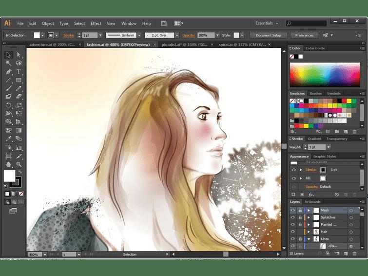 adobe illustrator cc 2020 Crack + Serial Key