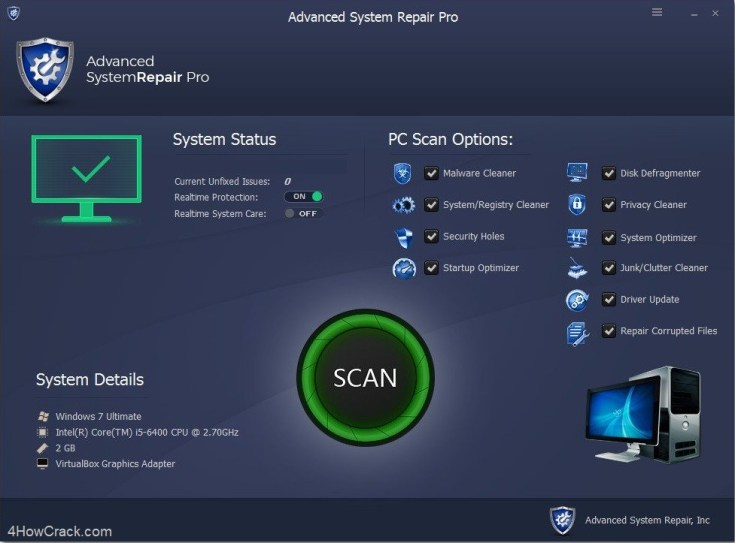 Advanced System Repair Pro Crack + License Key {Latest}