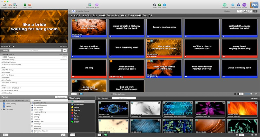 ProPresenter 7.1.3 Crack Plus Full Serial Key Free Download