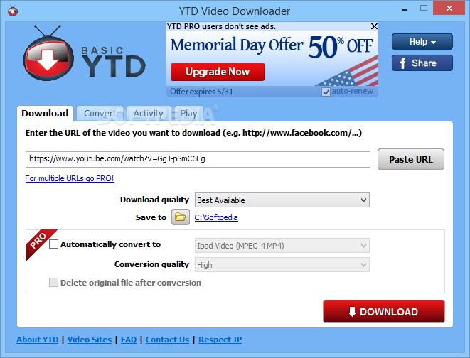 YTD Video Downloader Pro Crack latest version