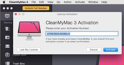 CleanMyMac X Crack Plus Activation Number