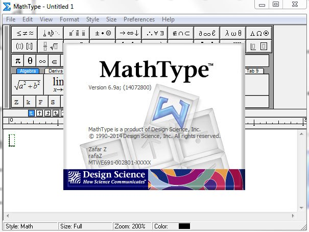Mathtype Crack with Keygen Free Download